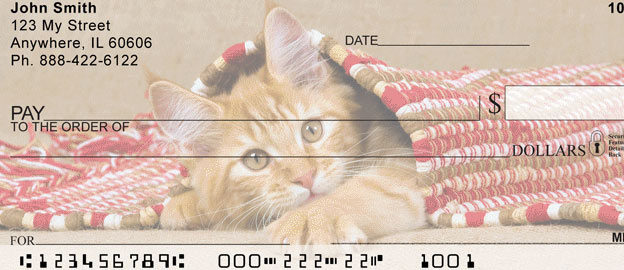 cat personal checks mail