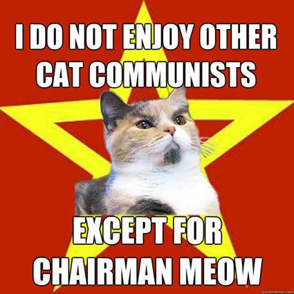 lenin cat communist