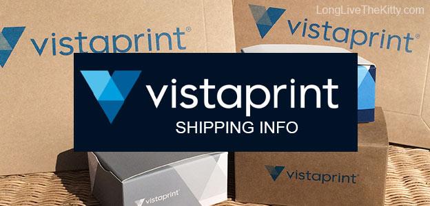 shipping info vistaprint